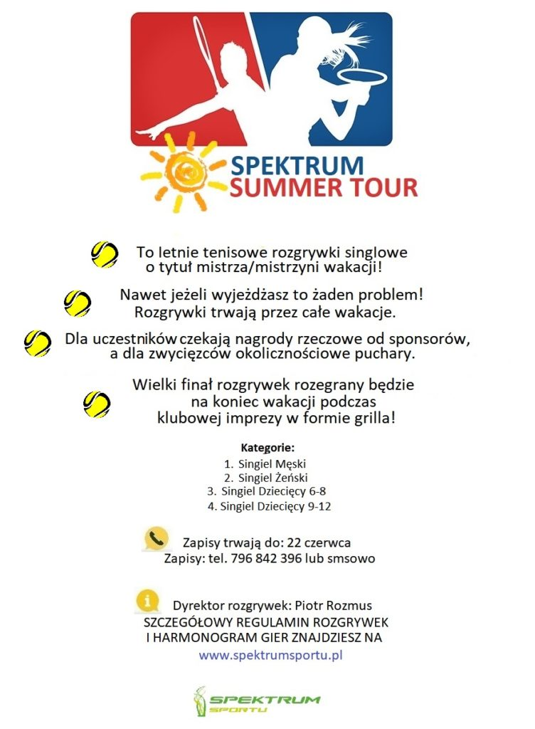 spektrum summer tour
