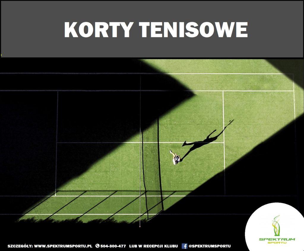 korty tenisowe legionowo spektrum sportu