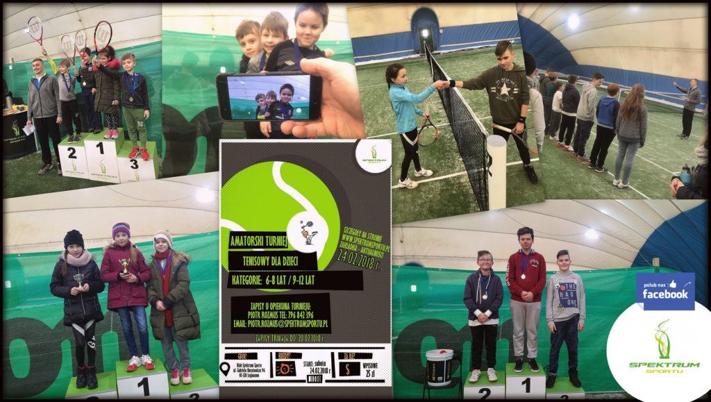 turniej tenisowy dla dzieci spektrum sportu