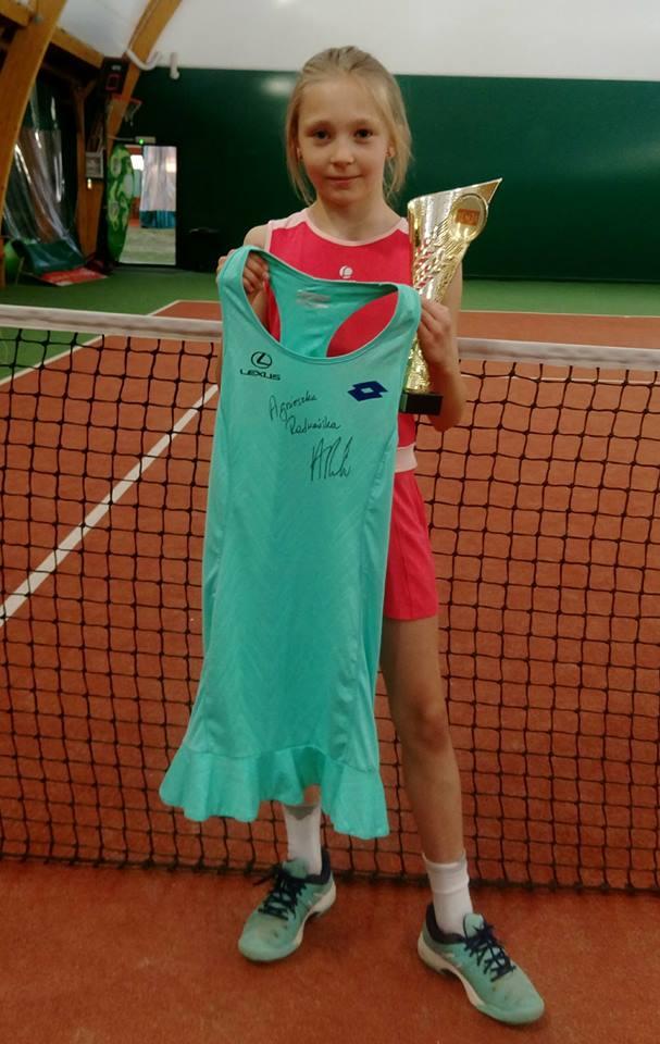 Iga Piotrowska Spektrum Sportu tenis turniej PZT